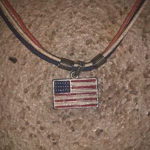 Jewelry - American flag necklace